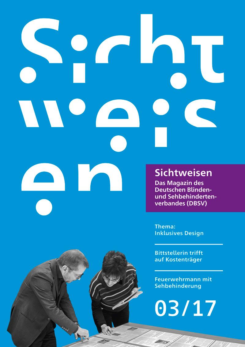 Titelbild der Zeitschrift »Sichtweisen«
